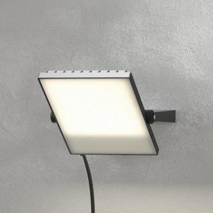 Duracell Čierne vonkajšie LED svetlo Regular 50W, 4000K