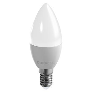 Duracell LED sviečková žiarovka E14 B35 6W 2700K matná