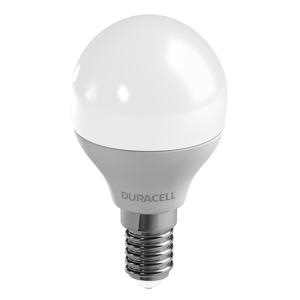 Duracell LED kvapková žiarovka E14 P45 6W 2700K matná