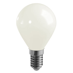 Duracell LED kvapková žiarovka E14 P45 4W 2700K opál