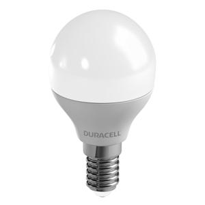 Duracell LED kvapková žiarovka E14 P45 6W 2700K mat stmieva