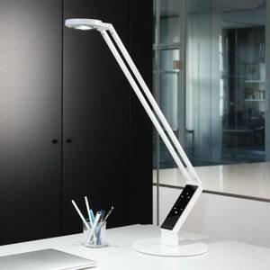 Luctra Luctra stolná LED TableProRadial podstavec biely