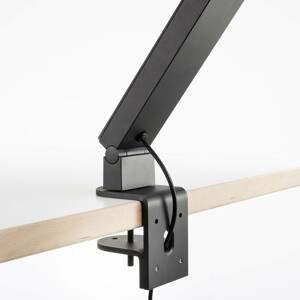 Luctra Luctra TableProRadial stolná lampa upínanie čierne