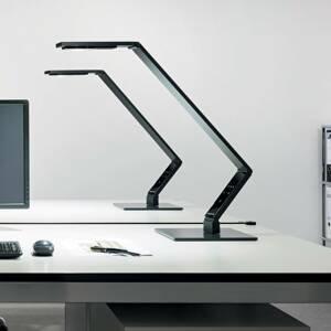 Luctra Luctra Table Linear stolná LED, podstavec čierny