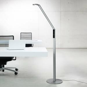 Luctra Luctra Floor Radial stojaca LED lampa hliník