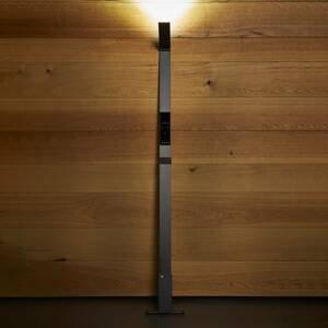 Luctra Luctra Flex stojaca LED bezdrôtová batéria čierna