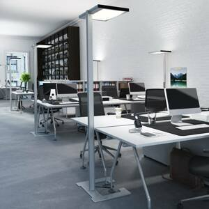 Luctra Luctra Vitawork stojaca LED lampa 12000lm PIR