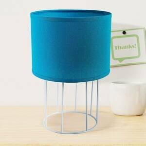 DUOLLA Stolná lampa Carla S, modrá
