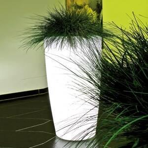 DEGARDO Lampa Rovio IV vysaditeľná, biela priesvitná