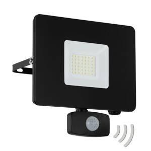 EGLO LED reflektor vonkajší Faedo 3, snímač, čierna/30W