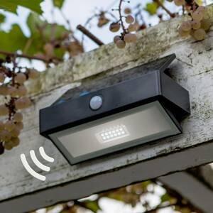 Eco-Light Arrow solárne nástenné svietidlo s LED a snímačom