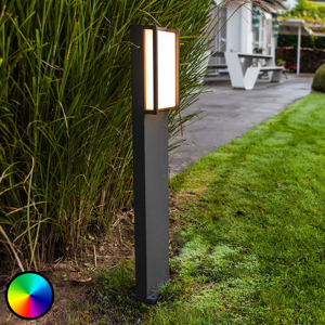 Eco-Light WiZ chodníkové LED svietidlo Qubo