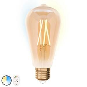 iDual iDual LED žiarovka E27 ST64 9W diaľkové ovládanie