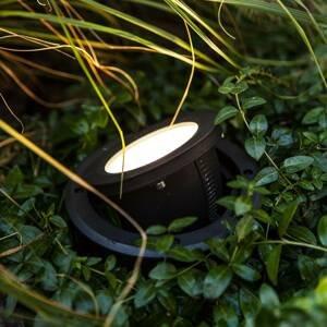 Eco-Light Podlahové zapustené LED svietidlo Arctic, okrúhle