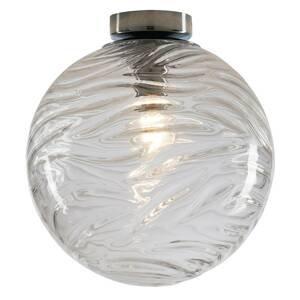 Eco-Light Stropné svietidlo Nereide, sklo číra