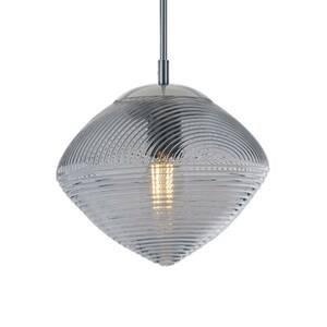 Eco-Light Závesná lampa Greenwich, sklo sivá
