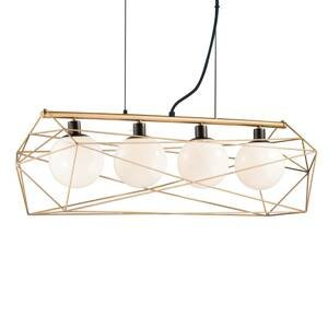 Eco-Light Závesná lampa Abraxas 4-plameňová