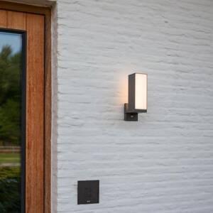 Eco-Light Vonkajšie LED svietidlo Cuba 1-pl., snímač pohybu