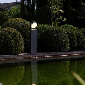 Eco-Light Chodníkové LED svietidlo Fele antracit, otočné