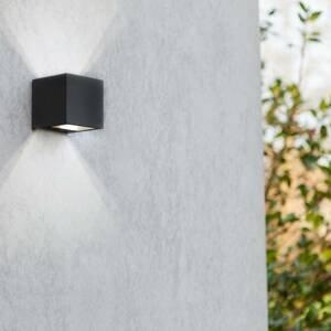Eco-Light Vonkajšie LED svietidlo Gemini matná čierna 8,8cm
