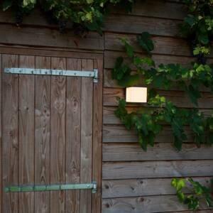 Eco-Light Vonkajšie nástenné LED svietidlo Doblo výška 15cm
