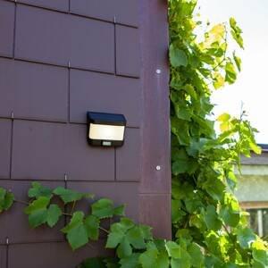 Eco-Light Solárne nástenné LED svietidlo Try detektor pohybu