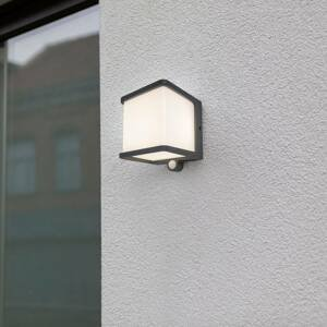 Eco-Light Solárne nástenné LED svetlo Doblo detektor pohybu