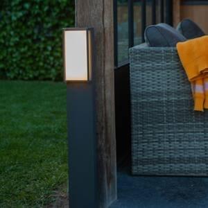 Eco-Light Chodníkové LED svetlo Qubo, RGBW smart ovládanie