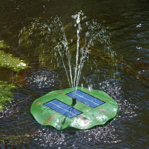 Esotec Seerose - plávajúce solárne rybníkové čerpadlo