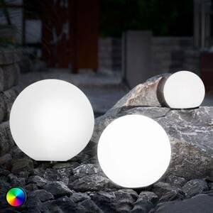 Esotec Sada 3 kusov solárnych LED gúľ funkcia zmeny farby
