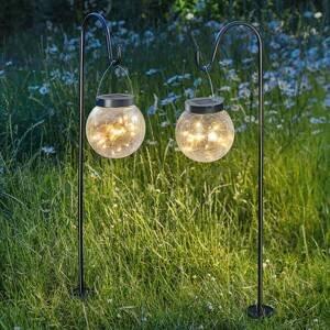 Esotec Solárna dekoračná lampa Smart Globe 2 dielna sada