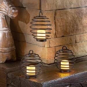 Esotec Súprava dekoračných lámp Sprigfield na batérie