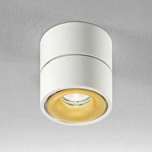 Egger Licht Egger Clippo stropné LED, bielo-zlaté, 3000K