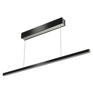 Evotec Diaľkovo ovládané LED svietidlo Orix čierne, 90cm