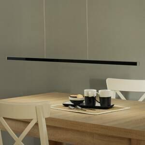 Evotec Diaľkovo ovládané LED svietidlo Orix čierne, 120cm
