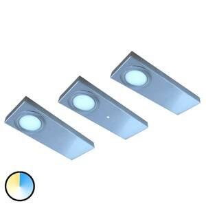 Evotec Podhľadové LED svietidlo Tain s Color Switch 3 ks