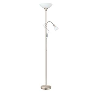 EGLO Stabilná stojaca lampa Up 2 s lampou na čítanie
