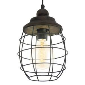 EGLO Rustikálne navrhnutá závesná lampa Bampton