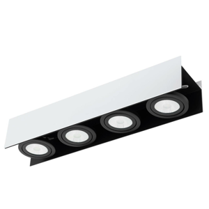 EGLO Vidago – štvor-plameňové stropné LED svietidlo