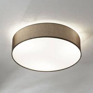 EGLO Hnedé textilné stropné svietidlo Pasteri 57cm