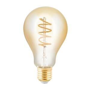 EGLO LED žiarovka E27 4W hruška jantárová