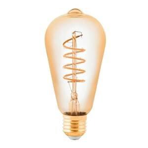 EGLO LED žiarovka E27 4W Rustika jantár