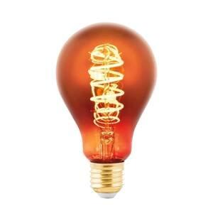EGLO LED žiarovka E27 4W hruška meď naparená