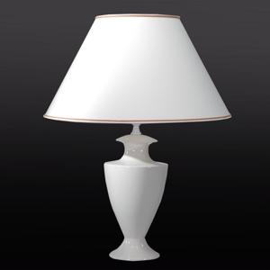 Eurokeramic Stolná lampa Ada Craquelet 70cm