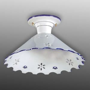 Eurokeramic Stropné svietidlo Onice s odstupom, 28cm