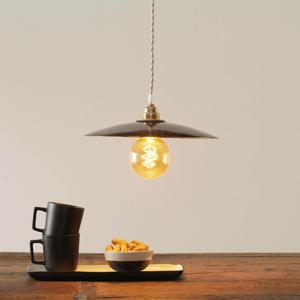Eurokeramic Keramická závesná lampa S1890, čierna/zlatá