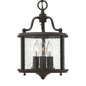 HINKLEY Anticky navrhnutá závesná lampa Gentry