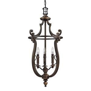 HINKLEY Rustikálna závesná lampa Plymouth