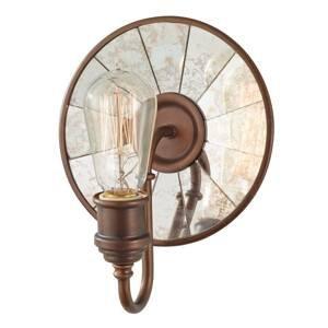 FEISS Nástenné svetlo Urban Renewal zrkadlové sklo bronz