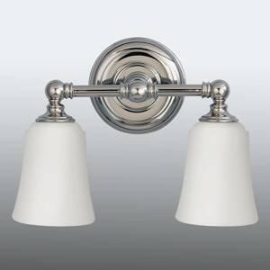 FEISS Kúpeľňové nástenné svetlo Huguenot Lake, 2-pl.